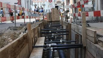 Der Anschlusspflicht zur Fernwärme erhitzt in Solothurn die Gemüter. (Archiv)