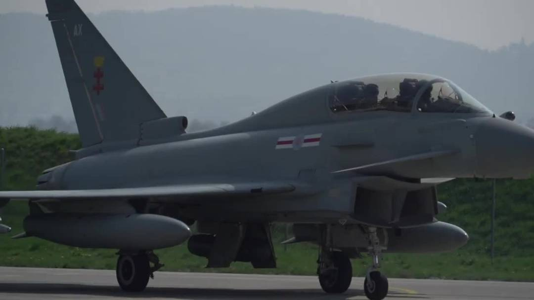 Der Eurofighter im Test in Payerne