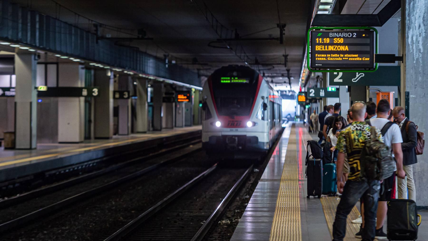 Die SBB behält ein reduziertes Angebot nach Italien bei. Noch keine Einigung gibt es bei den Regionalzügen.