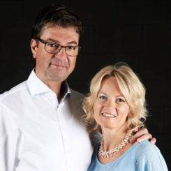 Andreas und Nicole Steineder.