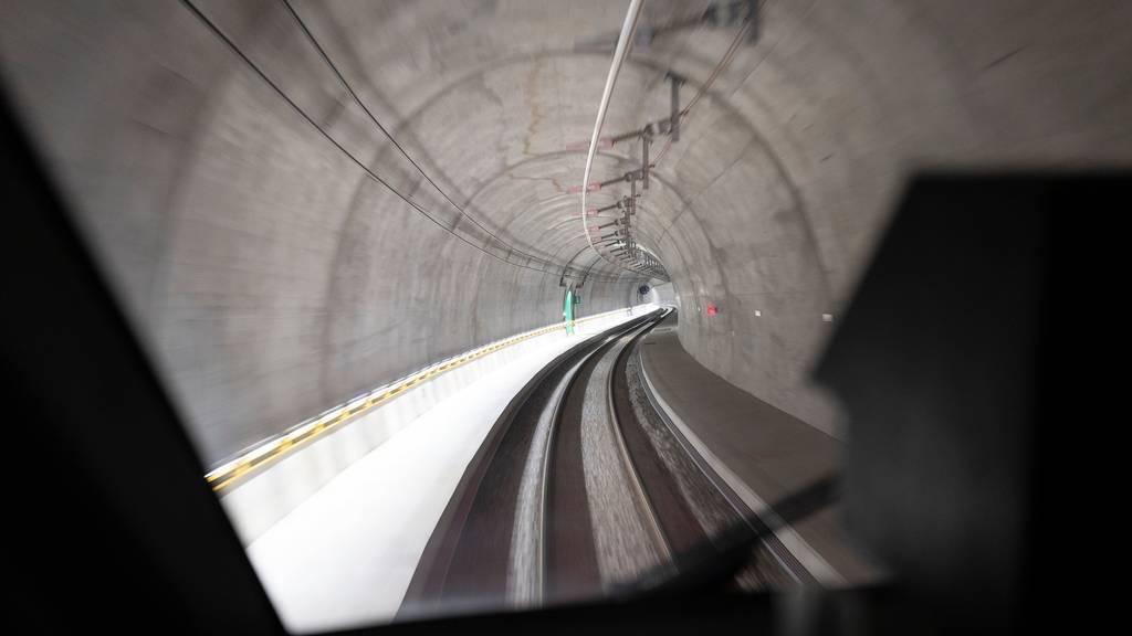 Bahn frei: SBB erhält Bewilligung für Betrieb durch Ceneri-Basistunnel