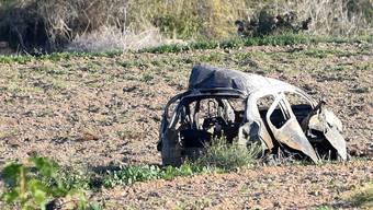 Auf Malta wurde die maltesische Enthüllungsjournalistin Daphne Caruana Galizia im Oktober 2017 mit einer Autobombe getötet. (Archivbild)