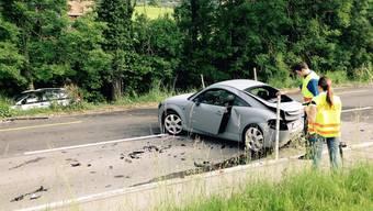 Vier Verletzte forderte ein Verkehrsunfall am Samstagmorgen im Thurgau. Der Unfallverursacher hatte laut der Polizei zu viel Alkohol im Blut und keinen Führerausweis in der Tasche.