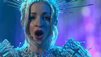 Die australische Opernsängerin Kate Miller-Heidke überzeugte mit einer spektakulären Bühnenshow und einem Song über postnatale Depression.