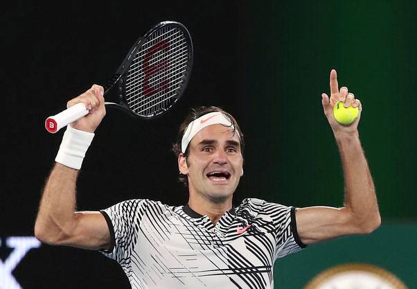 2017 gewann Roger Federer nach langer Pause die Australian Open.