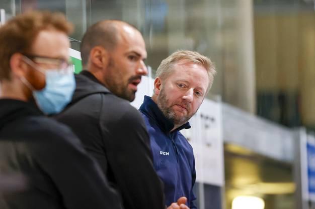 Sportchef Marc Grieder ist auch der Assistent von Fredrik Söderström.