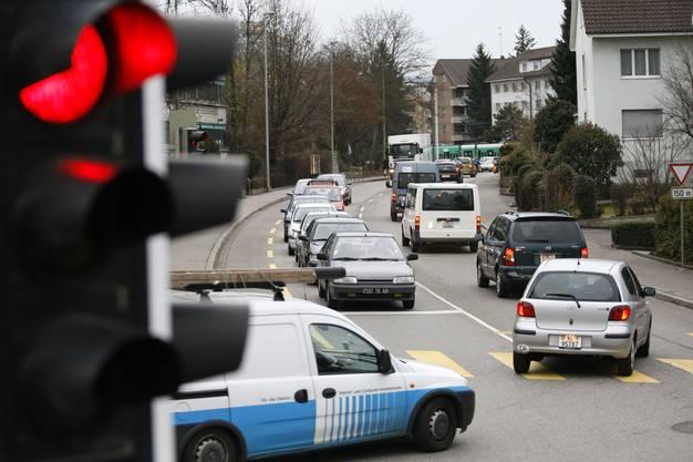Allschwil leidet unter dem dichten Verkehr
