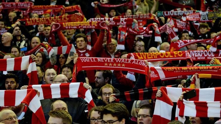 Einzigartig: Die Liverpool-Fans