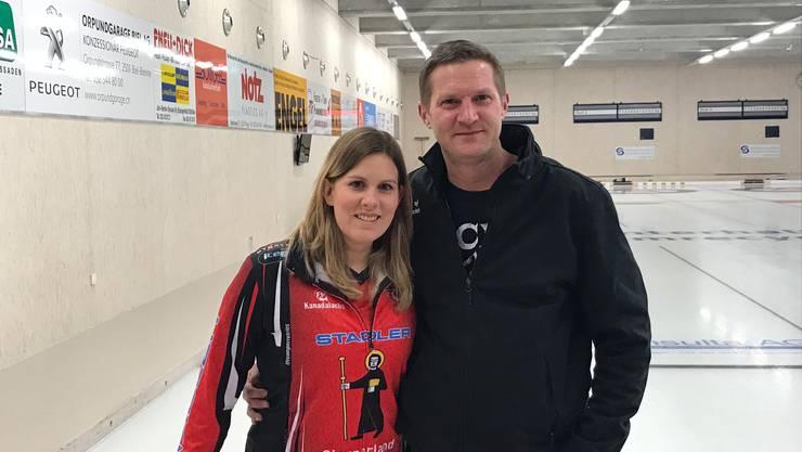 Jenny Perret und Patrick Schreier