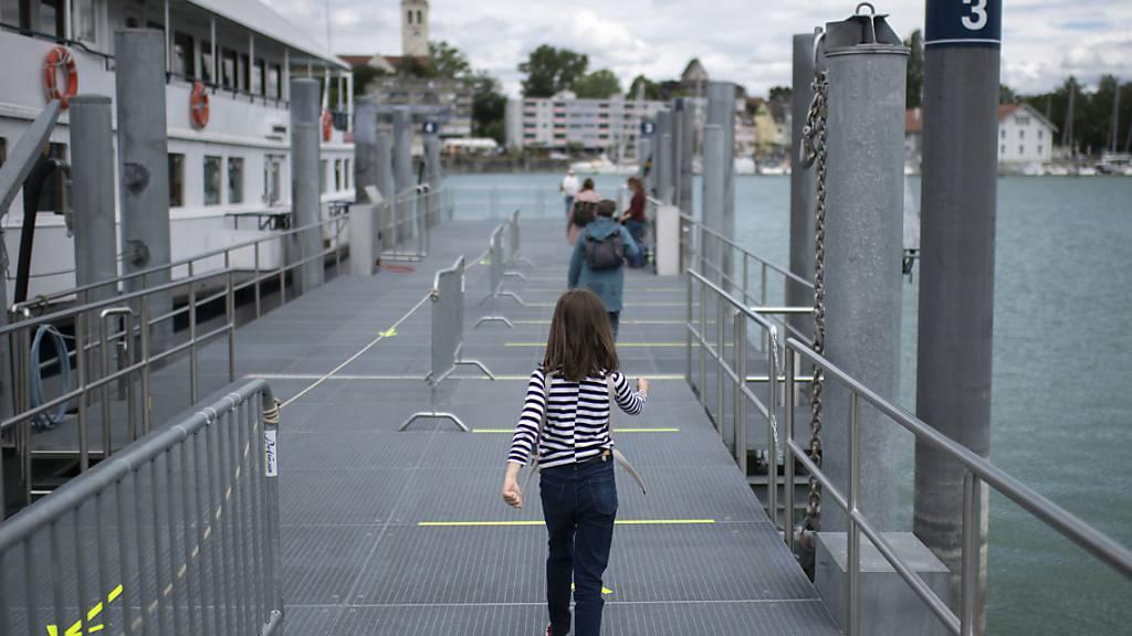 Bodenseeschiff MS Thurgau wird zum schwimmenden Impfzentrum