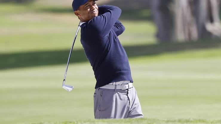 Tiger Woods muss in San Francisco kämpfen