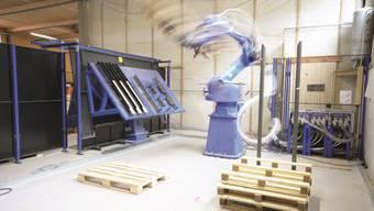 Ruedersäge AG liefert ihre Paletten hauptsächlich an kleinere Firmen in der Region aus.