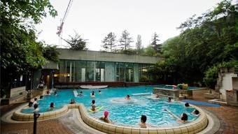Das öffentliche Thermalbad, fotografiert wenige Tage vor der Schliessung im Sommer 2012. Az/Archiv
