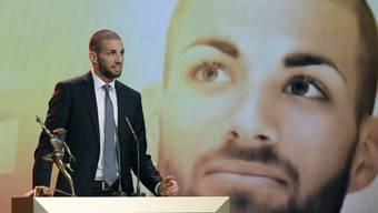 Der Leichtathlet Kariem Hussein gewinnt einen Credit Suisse Sports Award in der Kategorie Newcomer des Jahres.