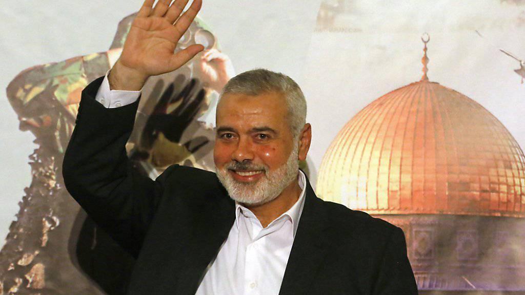 Der neue Hamas-Chef Ismail Hanija möchte den Konflikt mit der Fatah-Partei beenden.