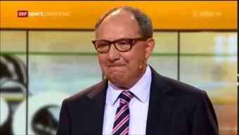 Wir haben mit ihm geflucht, wir haben mit ihm gelacht – nun ist es vorbei. Nach 34 Jahren moderierte TV-Urgestein Beni Thurnheer am Sonntagabend zum letzten Mal das «Sportpanorama».