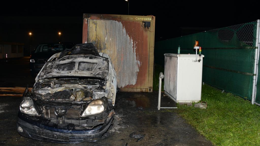 Brandstiftung: Auto in Vaduz angezündet