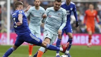 Chelsea mit Mateo Kovacic tat sich beim Gastspiel in Cardiff schwer
