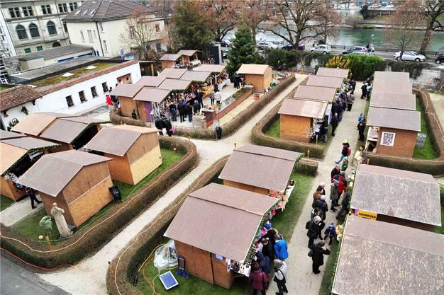 Standbetreiber und -besucher bedauern das Ende des Adventsmarktes im Klostergarten, vor allem «wegen des besonderen Ambientes».