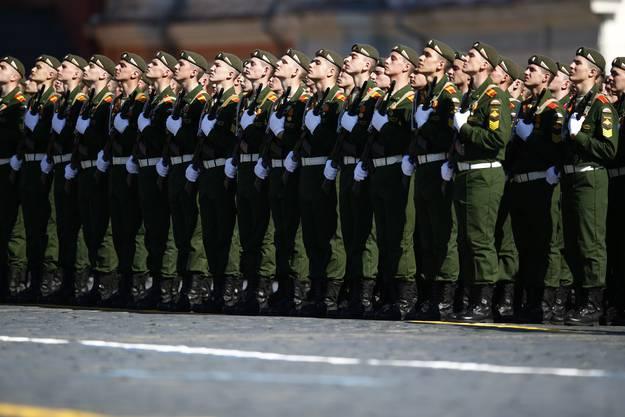 Moskau feiert Sieg im Zweiten Weltkrieg mit grosser Militärparade