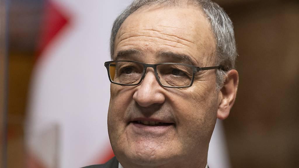 Bundesrat Guy Parmelin will Tourismus unterstützen