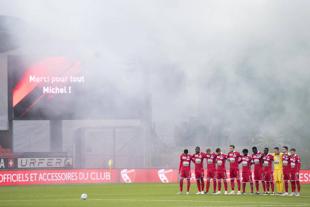 FCSG versus FC Sion (© keystone)