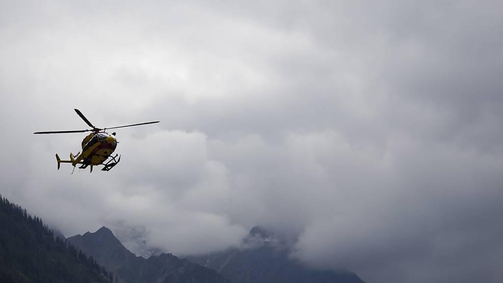 Drei Tote nach Helikopterabsturz bei Unwetter-Einsatz