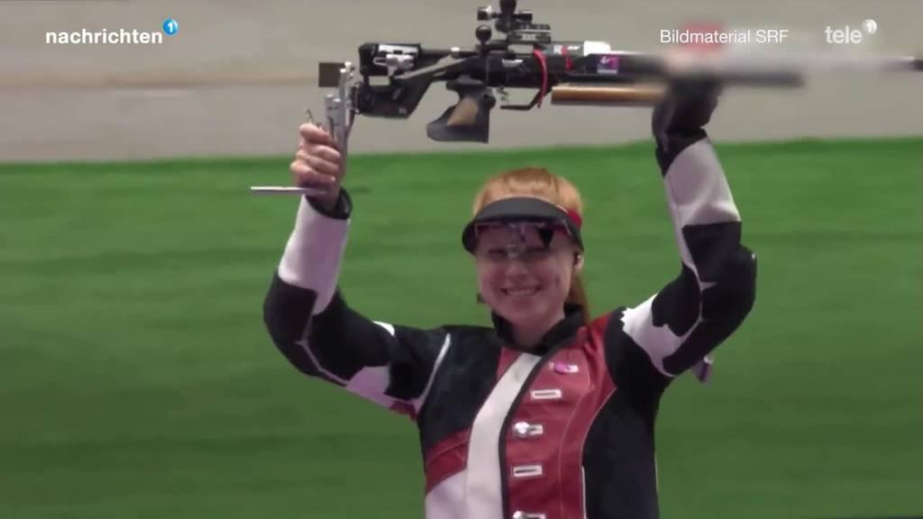 Nina Christen holt zweite Medaille