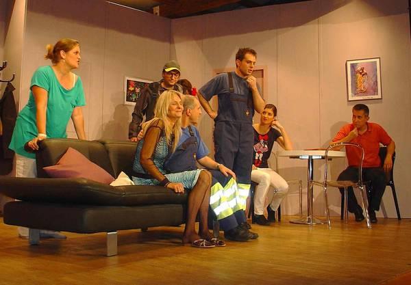 Das Stück Lotto spielt de Otto brachte die Theatergruppe im Jahr 2010 auf die Bühne (Bild Susanne Brem)