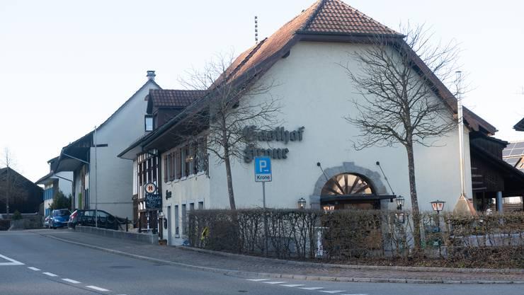 Das Gausthaus Krone in Rietheim