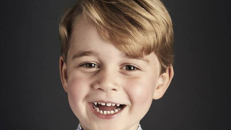 Prinz George: Das offizielle Foto zum 4. Geburtstag des Sohnes von William und Kate.