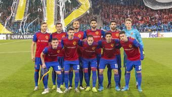 Getragen von den Heimfans feiert diese FCB-Mannschaft die erfolgreichste Europa-League-Gruppenphase der Vereinshistorie.
