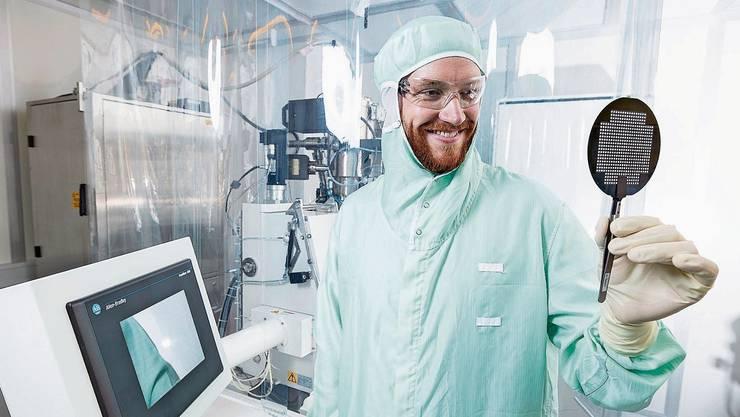 Unternehmerisch denkender Forscher: Florian Döring sorgt mit Röntgenoptiken für Aufsehen.
