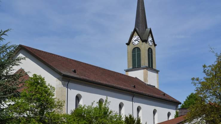 Auf dem dach der Kirche St. Nikolaus in Erlinsbach SO sollte eine Solaranlage installiert werden. Dieses Vorhaben wurde nun aufgegeben.