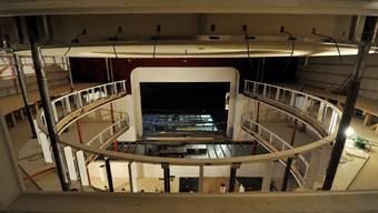 Besichtigung des Solothurner Stadttheaters im Umbau
