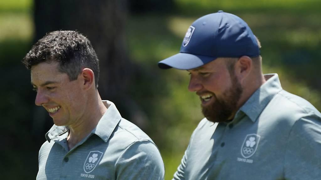 Für Irland im Einsatz: Rory McIlroy (linke) und Shane Lowry.