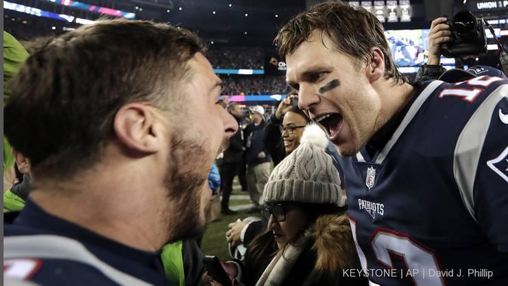 Brady und Amendola.