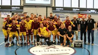 Erfolgreiches Team: Nach drei vergangenen Spieltagen darf sich Dukla Prag als Turniersieger feiern lassen.