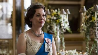 Zum Beispiel «The Crown» läuft auf Netflix.