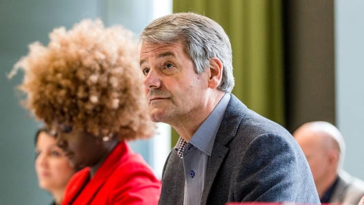 Walter Jucker, SP-Präsident