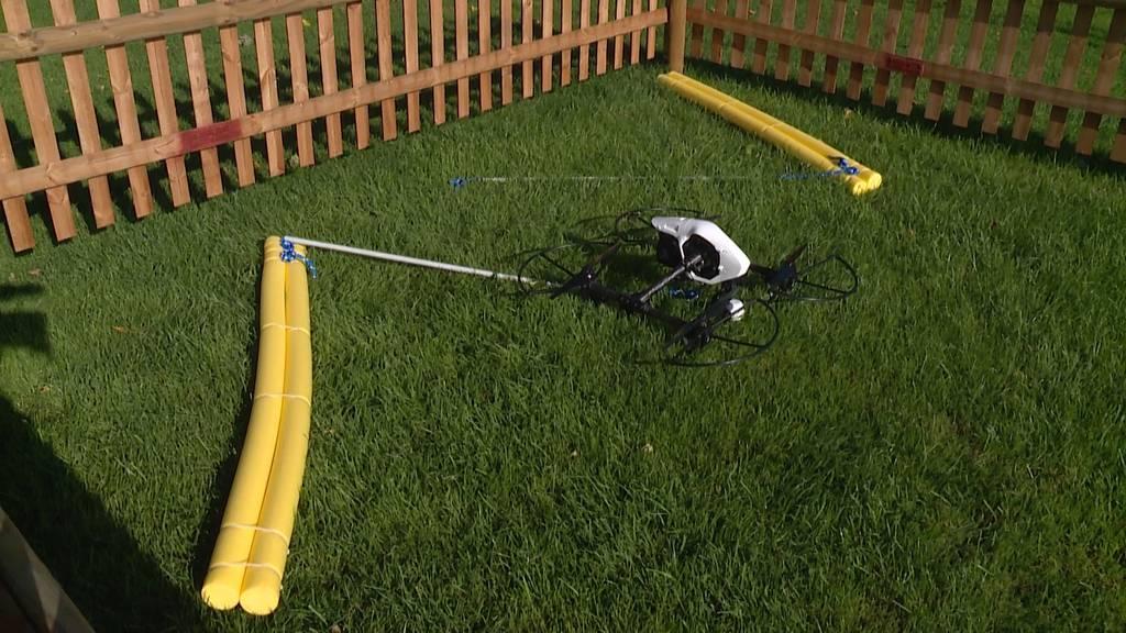 Drohne soll Badegäste im Zugersee vor dem Ertrinken retten
