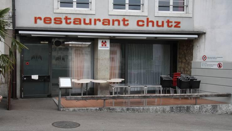 Lange war der Chutz die einzige Beiz von Solothurn mit einer Terasse auf die Aare hinaus