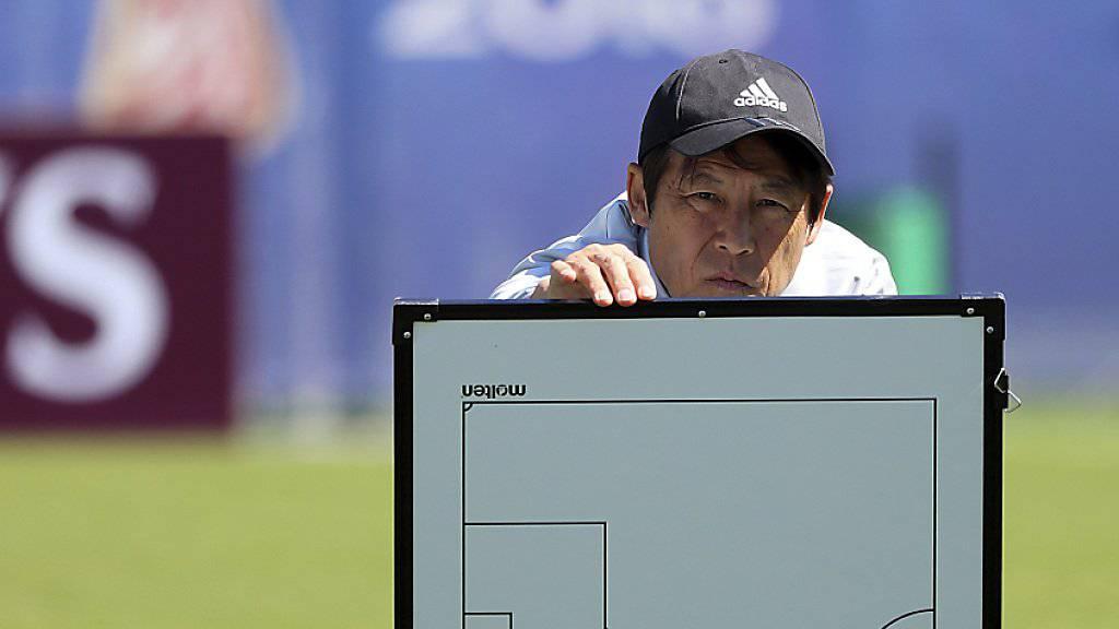 Will sich vor dem Duell mit Senegal nicht verstecken: Japans Nationaltrainer Akira Nishino