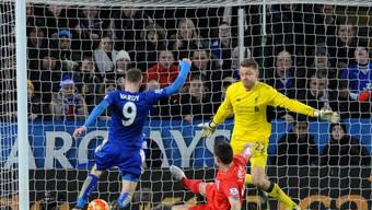 Liga-Topskorer Jamie Vardy entschied das Duell zwischen Leicester City und Liverpool fast im Alleingang