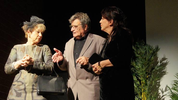 «Death at a Funeral» lautet der britische Originaltitel des Stücks der Bühne Wehntal.