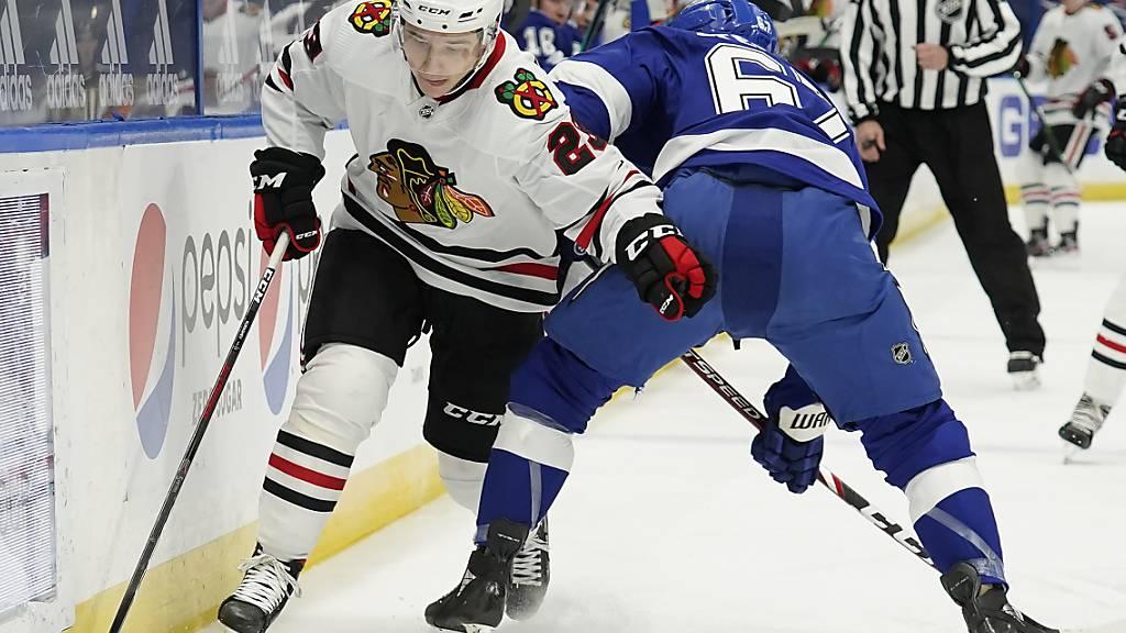 Kuraschew debütierte in der NHL