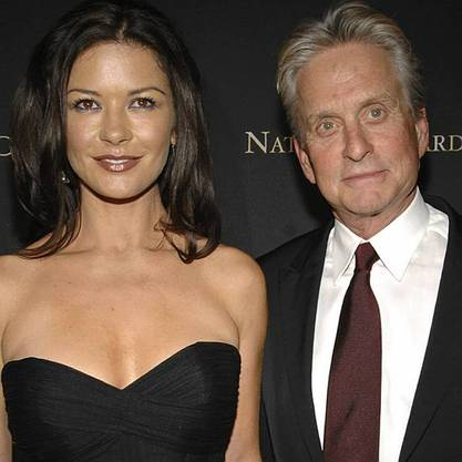 Catherine Zeta-Jones mit Ehemann Michael Douglas (Archiv)