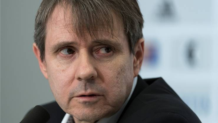 FCB-Präsident Burgener sagt nichts zu den Problemen seines Partners. Keystone