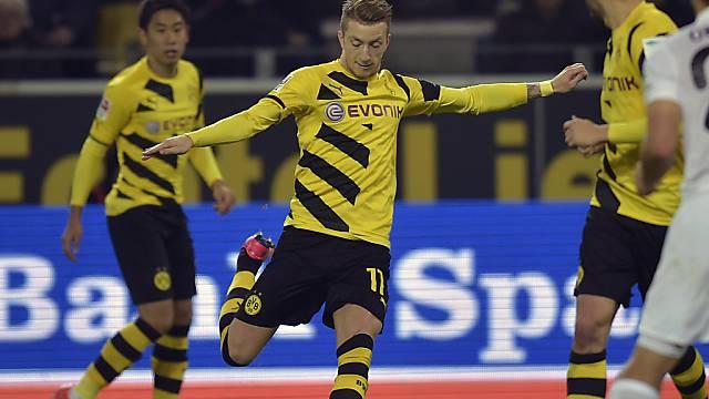 Marco Reus traf für Dortmund zum zwischenzeitlichen 2:1