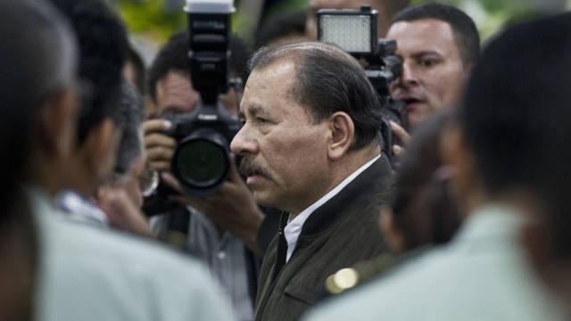 Nicaraguas Präsident Daniel Ortega (Archiv)